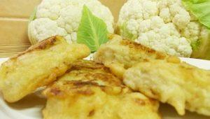 Цветная капуста в кляре: свойства блюда и рецепты приготовления