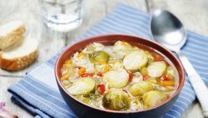 Суп с брюссельской капустой: польза и вкусные рецепты для всей семьи