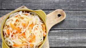Квашеная капуста: калорийность и рецепты диетических блюд