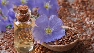 Льняное масло для волос: польза и способы применения