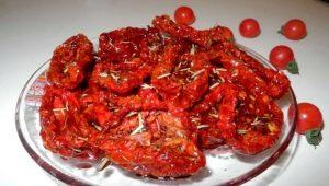 Сушеные помидоры: особенности использования и хранения