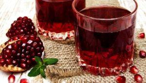Гранатовый сок: состав и сфера применения