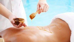 Как делать медовый массаж для похудения?