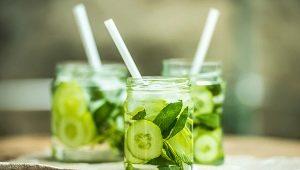 Как приготовить огуречный лимонад?