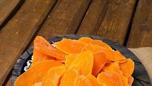 Особенности сушеного манго