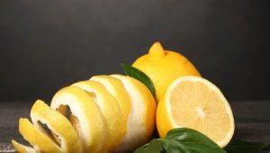 Свойства кожуры лимона и ее применение