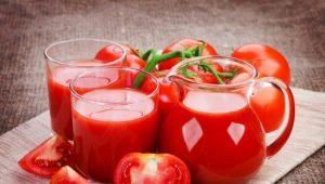 Томатный сок: свойства и применение