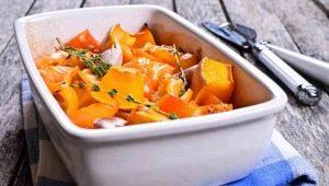 Тонкости приготовления жареной тыквы