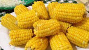 Вареная кукуруза: пищевая ценность, свойства и рецепты