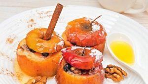 Запеченные яблоки с медом: секреты приготовления и свойства блюда