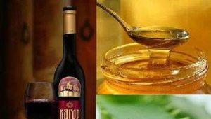 Алоэ, мед и кагор: целебные свойства настойки, рецепты и противопоказания