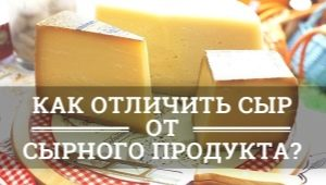 Чем отличается настоящий сыр от сырного продукта?