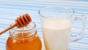 Как и когда принимать молоко с мёдом?