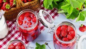 Как приготовить варенье из клубники с целыми ягодами?