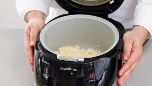 Как сварить рассыпчатый рис в мультиварке?