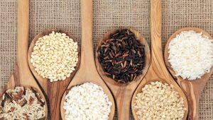 Как увеличивается объем риса при варке?