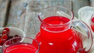 Особенности приготовления морса из красной смородины на зиму