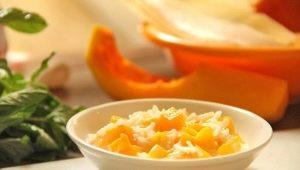 Особенности приготовления рисовой каши с тыквой
