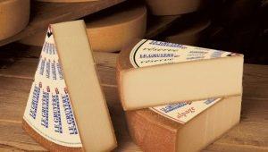 Сыр Грюйер: калорийность и состав, применение в кулинарии