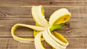 Банановая кожура: свойства и варианты использования