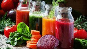 Готовим овощные смузи в блендере