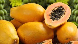 Состав и калорийность сушеной папайи
