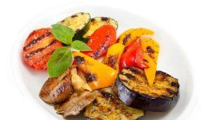 Готовим овощи в аэрогриле