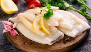 Как готовить замороженных кальмаров?