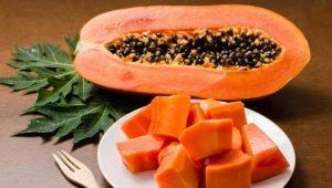 Как правильно есть папайю?