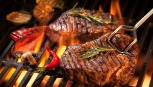 Как приготовить стейк из говядины на гриле?