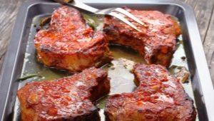 Как приготовить стейк из свинины в духовке?