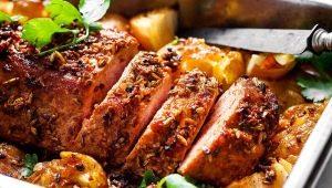Как приготовить свиную вырезку в духовке?