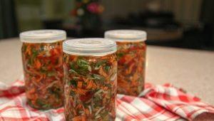 Как приготовить вкусную овощную заправку на зиму?