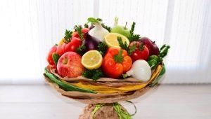 Как создавать букеты и цветы из овощей?