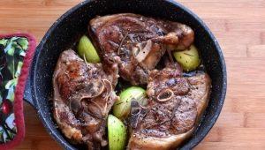 Как вкусно приготовить баранину на сковороде?