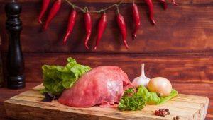 Как вкусно приготовить говяжье легкое?