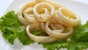 Как вкусно приготовить кольца кальмара?