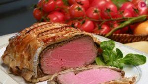 Рецепты приготовления говядины Веллингтон