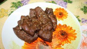 Рецепты приготовления говяжьей печени в мультиварке