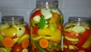 Рецепты засолки ассорти из овощей на зиму