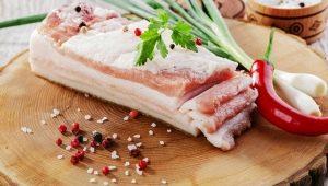 Сколько калорий в свином сале и что входит в его состав?