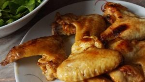 Готовим куриные крылья в медовом соусе