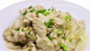 Индюшатина в сливочном соусе: калорийность и способы приготовления