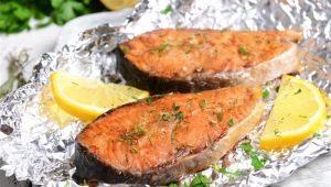 Как приготовить красную рыбу в духовке?