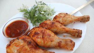 Как приготовить шашлык из куриных голеней?