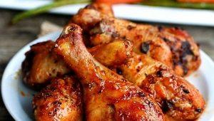 Как вкусно пожарить куриные голени на сковороде?