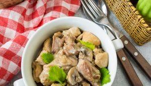 Как вкусно приготовить индейку с шампиньонами?