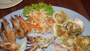 Какими морепродуктами славится Таиланд?