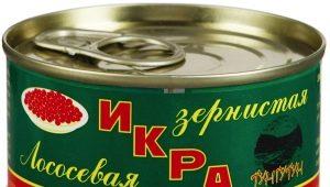Лососевая икра: состав, калорийность, виды и приготовление