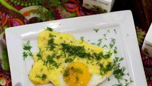 Популярные рецепты приготовления яичницы с сыром